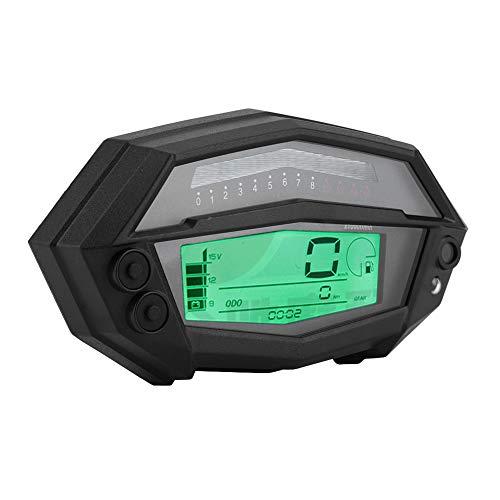 KIMISS Motorcycle Speedometer Tachometer, Digital Tachometer Speedometer Gear Indicator for K awasaki Z1000 2003-2016:
