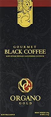 1 Box of Organo Gold Ganoderma Gourmet - Black Coffee (30 sachets) by BE