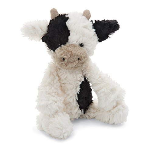 Jellycat Squiggle Calf Stuffed Animal, Small, 9 ()