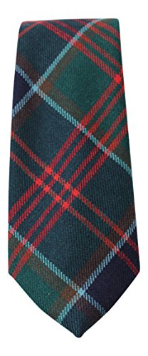 100% Wool Authentic Traditional Scottish Tartan Neck Tie - Stewart of Appin Hunting Modern