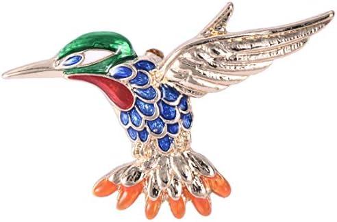 キラキラ ブローチ 鳥のブローチピン 動物 ブローチ ブローチ 卒業式 かわいい デザイン 誕生日 記念日 プレゼント