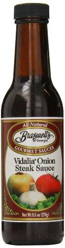 Braswell Vidalia Steak Sauce, 9.5 Ounce (Pack of ()