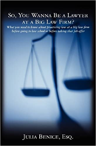 Book So, You Wanna Be a Lawyer at a Big Law Firm?: What you need to know about practicing law at a big law firm before going to law school or before taking that job offer