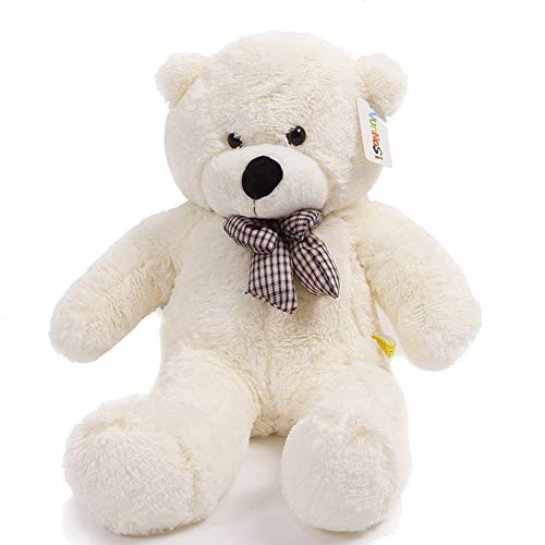 (YunNasi 31'' Soft Plush Teddy Bear Huge 100% PP Cotton Giant Teddy Bear Stuffed Animal Toy Cute Doll)