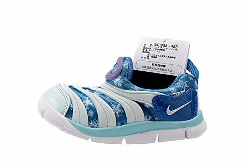 Transpirable al Aire Libre Kid dinamo libre TD–Zapatos de Senderismo, Niños, azul, UK7.5=EUR25=15CM