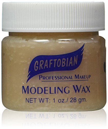 Graftobian Modeling Wax Flesh Color 1 oz (Clown Makeup Styles)