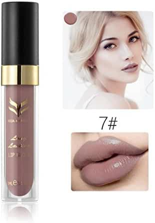 Gillberry Waterproof Matte liquid lipstick Long Lasting lip gloss Lipstick (G)