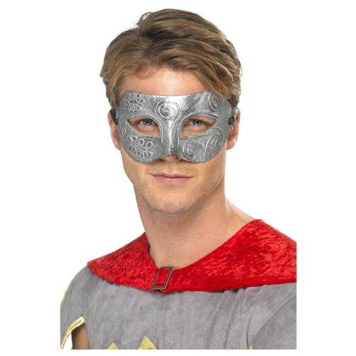 Jigsaw Costume Uk (Smiffys Metallic Warrior Colombina Eyemask)