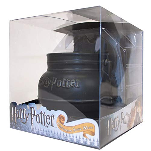 (Collectible Harry Potter Cauldron Soup Mug with Spoon In Plastic Case)