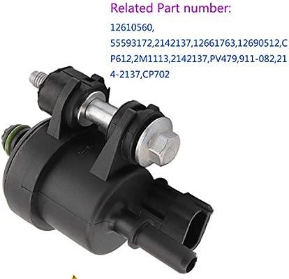12610560 Vapor Canister Purge Valve Solenoid 911-082 214-2137 2M1113 55593172