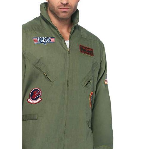 Leg Avenue Men's Top Gun Flight Suit Costume