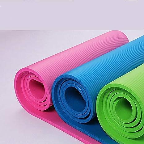 JKL India Yoga Mat 10Mm para principiantes 185 * 80Cm para ...
