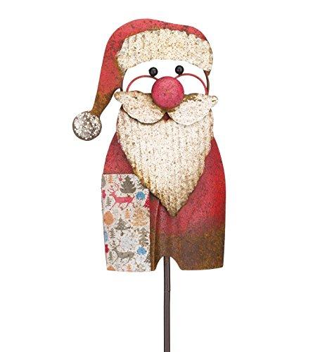 (Regal Art & Gift Santa Diggity Stake)
