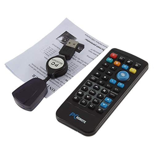 USB Media IR Wireless Mouse Remote Control Multifunction Controller USB Receiver for Windows Xp Vista Laptop PC Computer