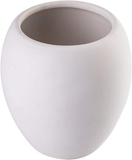 finitura opaca KADAX coppa acqua /ø 7 cm Bicchiere portaspazzolini da bagno in ceramica 425 ml serie Wenus moderno Rosa 9,5 x 10,5 cm
