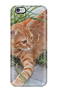 Hot Style JPnCyrL1719AMuTc Protective Case Cover For Iphone6 Plus(cat Wiht Rope)