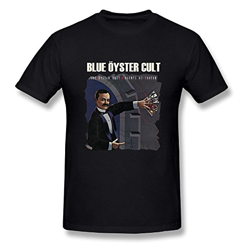 Blue Oyster Cult T-shirts - CynthiaH Blue Oyster Cult Agents of Fortune Mens T-Shirt Black M
