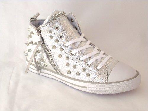Guess Femme Sneakers , FL3EBHLEM12, ELISABETHE ACTIVE Argent