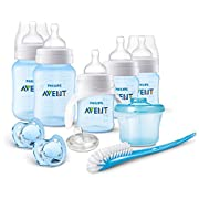 Philips AVENT Anti-Colic Bottle Newborn Starter Set, Blue