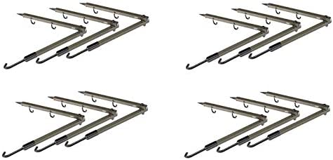Folding Bow Hanger Pack of 2 HME Products