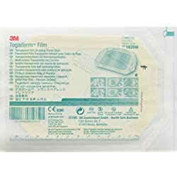 "3M Tegaderm Transparent Film Dressing - 4"" x 4 3/4"" - Pack of 10"
