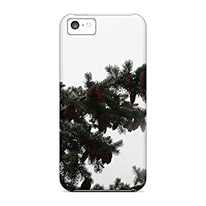 New Style CC WalkingDead Douglas Fir In The Fog Premium Tpu Cover Case For Iphone 5c