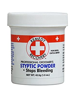 Pack of 1, 1.5 OZ, Quick, Safe and Effective Styptic Powder for Pets from Cardinal Laboratories