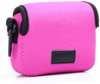 1Pcs Black Neoprene Soft Camera Case Protective Bag Cover Pouch For Sony Cyber-shot DSC-HX50 DSC-HX60 HX50 HX60 HX80 RX100 WX500