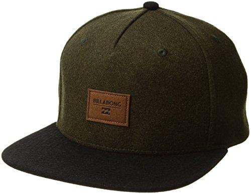 Billabong Men's Oxford Snapback Hat Dark Olive One Size