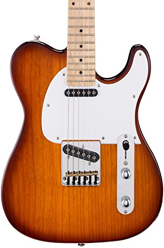 Maple Classic Board - G&L Tribute ASAT Classic Electric Guitar Tobacco Sunburst Maple Fretboard