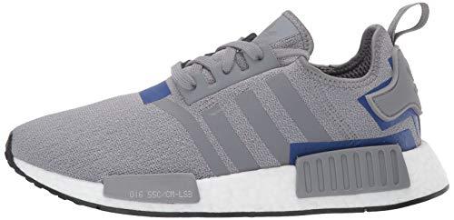 adidas Originals Men's NMD_R1 Running Shoe Grey/Active Blue, 4 M US by adidas Originals (Image #5)