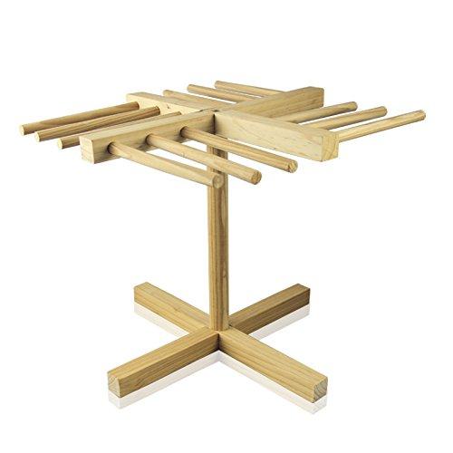 bamboo pasta drying rack - 8