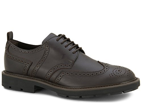 De Cuero Marrón Tod's Cordones Xxm46a0u180vads800 Zapatos Hombre S1zzUO