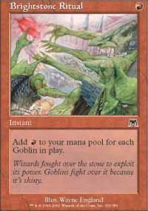 Magic: The Gathering - Brightstone Ritual - Onslaught