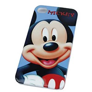 Mickey Mouse IPhone 4 4G Hard Case Cover by supermalls