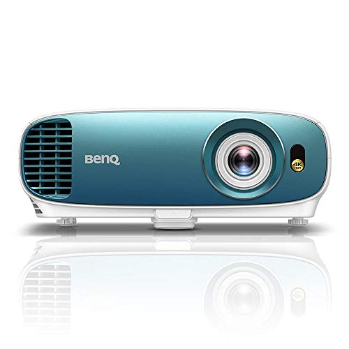 (BenQ TK800 4K UHD Home Theater Projector with HDR | 3000 Lumens for Ambient Lighting | 92% Rec. 709 for Accurate Colors | Keystone for Easy Setup)