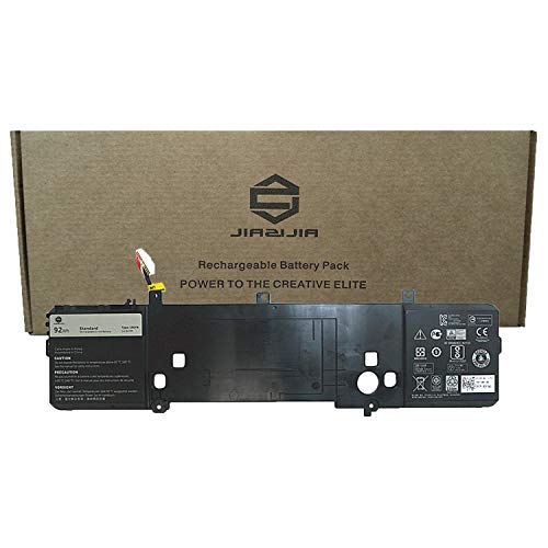 JIAZIJIA 191YN Laptop Battery Compatible with Dell Alienware 15 R2 R1 Series Notebook P42F 410GJ 2F3W1 02F3W1 8NH55 08NH55 Black14.8V 92Wh 6380mAh - 2728 Series