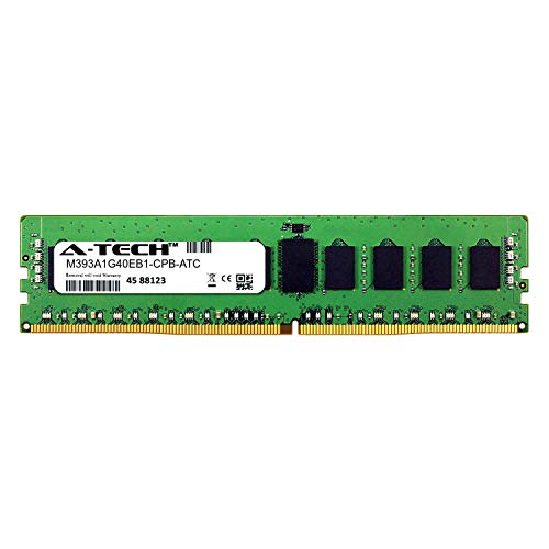 A-Tech 8GB Replacement for Samsung M393A1G40EB1-CPB - DDR4 2133MHz PC4-17000 ECC Registered RDIMM 1rx4 1.2v - Single Server Memory Ram Stick (M393A1G40EB1-CPB-ATC) ()