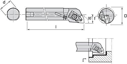 Ingersoll-Rand - A16T-TWLNL-3 - Index Bore Bar, Coolant Thur, A16T-TWLNL-3 by Ingersoll-Rand