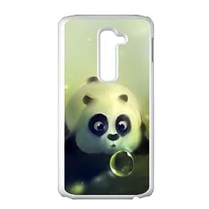 LG G2 Cell Phone Case White_Funny Kung Fu Panda Viqgj