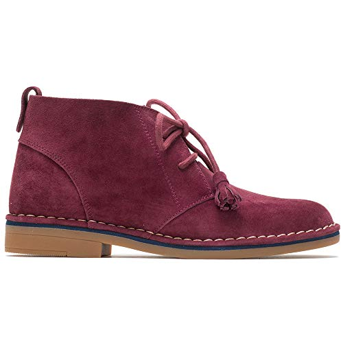 Catelyn Scamosciata Puppies Delle In Chukka Cyra Hush Vino Donne Rosso Pelle qPgH1wv