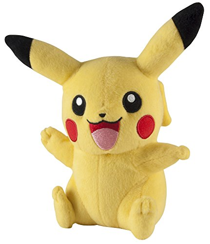 Pokemon Pokémon T18896 Pikachu 8 Inch Plush-Officially Licensed, Yellow
