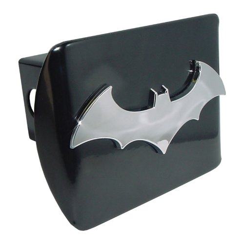 Batman (3D) All Metal Black Hitch Cover Elektroplate BAT_3D_BLK_HRC