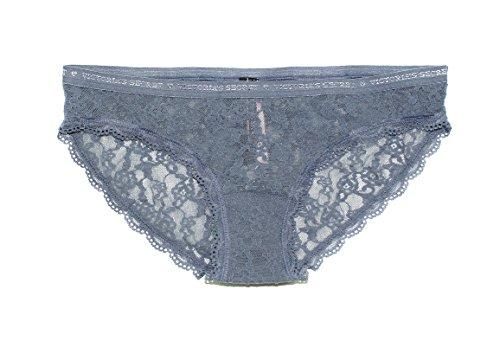 Victoria's Secret Bikini Panty (X-Small, Grey)
