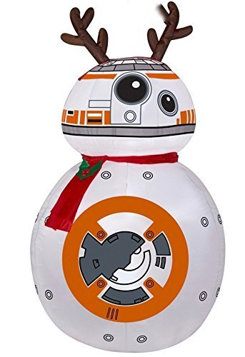 Disney Star Wars Reindeer BB-8 with Scarf Airblown Inflatable by Airblown