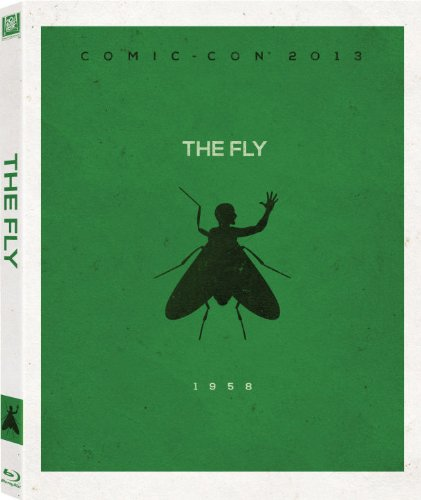 Limited Edition Artwork (The Fly Blu-Ray with Limited Edition Comic-Con Artwork)