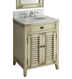 26 Cottage Look Abbeville Bathroom Sink Vanity Model Cf28323