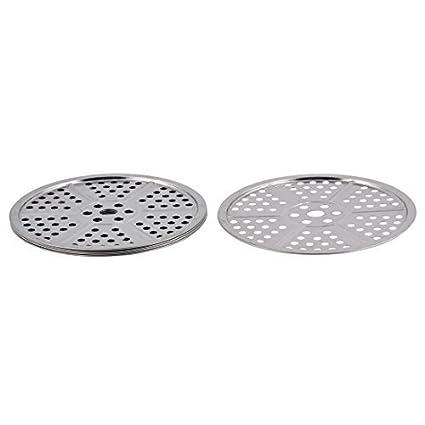Amazon.com: eDealMax acero inoxidable cantina que cocinan la Olla Olla Pan vapor portaplatos 5 piezas: Kitchen & Dining