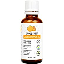 Orange Essential Oil (Sweet) 30 ml (1 fl. Oz.) - GCMS Tested, 100% Pure, Undiluted and Therapeutic Grade