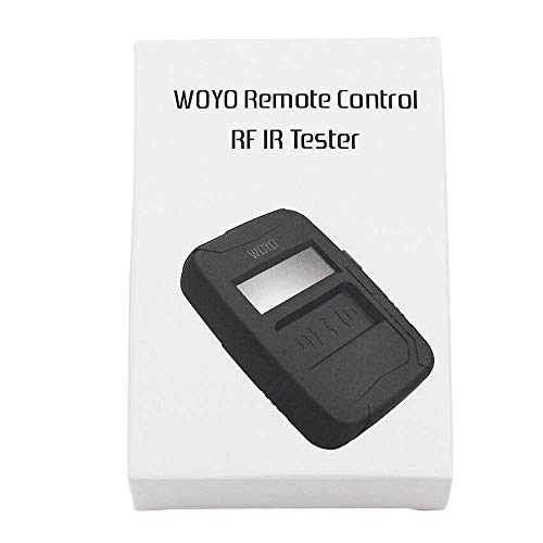 HERCHR Automotive Infrared Frequency Tester, WOYO Portable Remote Control Test Tool, Black by HERCHR (Image #7)